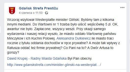 Źródło pytań radnych miasta Gdańska. Post profilu Redakcji Gdańskiej Strefy Prestiżu z 4.06.2019_.JP preview