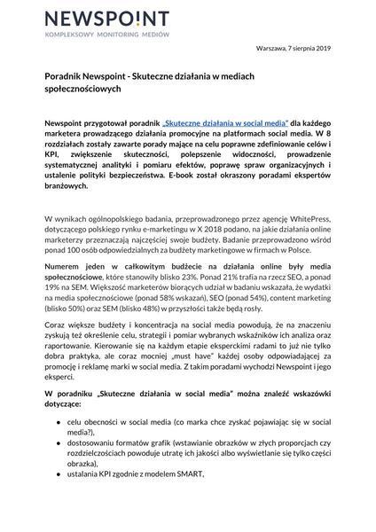 Poradnik Newspoint _Skuteczne działania w mediach społecznościowych_.pdf