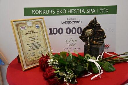 Główna nagroda konkursu EKO HESTIA SPA