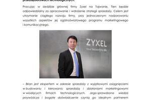 Zyxel PR_Brian Tien nowym wiceprezesem ds sprzedazy i marketingu.pdf