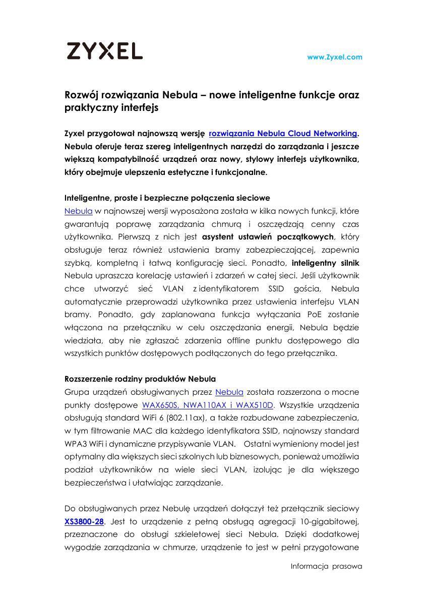 Zyxel PR_Rozwój rozwiązania Nebula.pdf