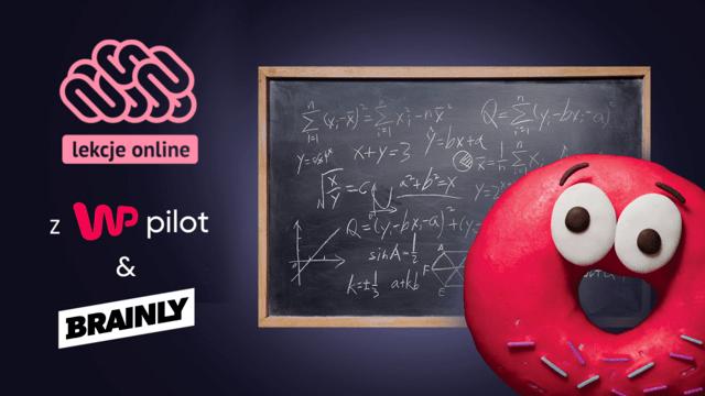 Lekcje online - WP Pilot i Brainly