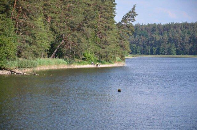 Zdjęcie Jeziora Głębokiego wykonane w dniu 17.06.2020