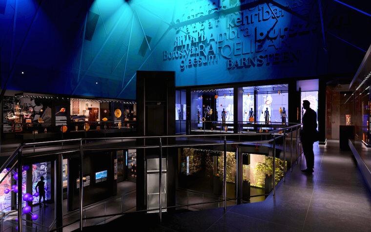 Widok ogólny na poziomie drugim w nowym Muzeum Bursztynu, aut. Anna Bocek, mat. Muzeum Gdańska preview