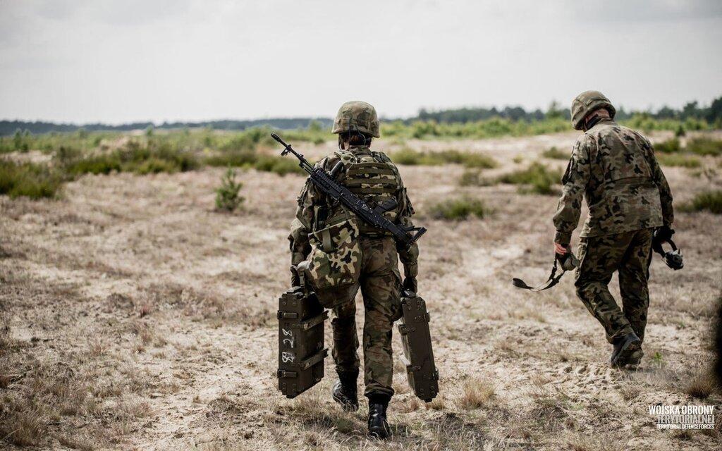 Pierwsze strzelania z lekkiego moździerza LMP-2017