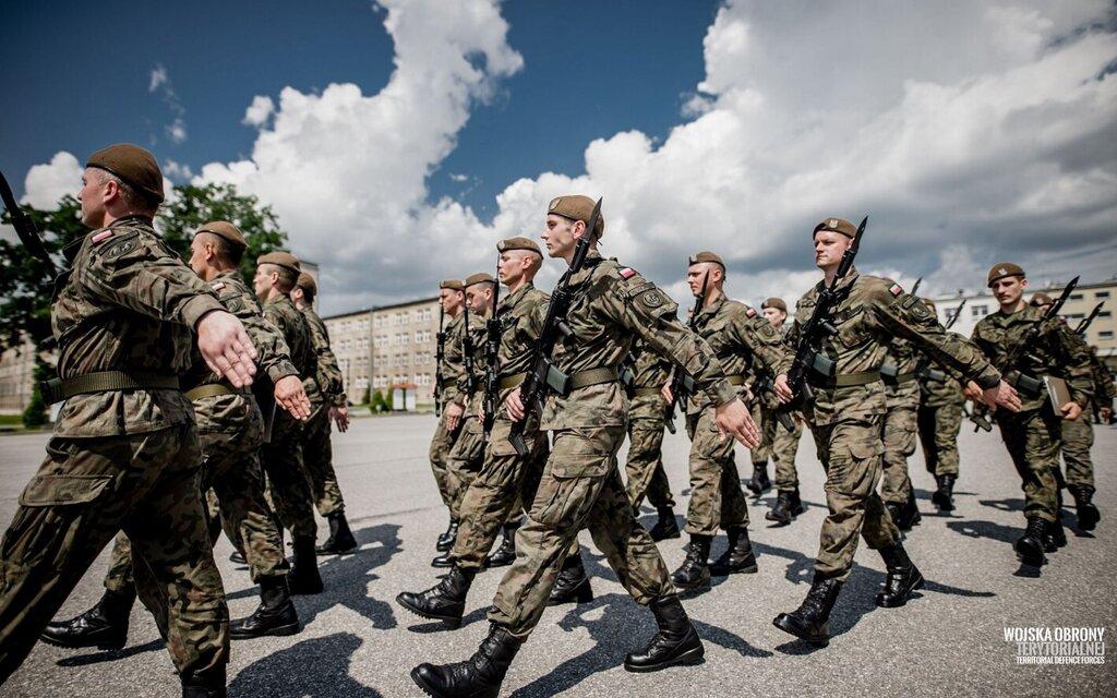Przysięga Terytorialsów z Małopolski