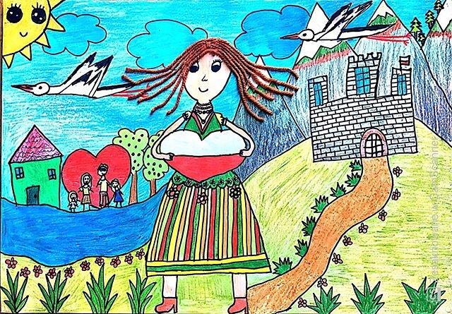 Praca Nadii, lat 9