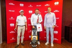 Marcin Mech (Sobienie Królewskie Golf & Country Club) nie miał sobie równych w kategorii ¾ HCP Stableford Netto 12,1-24