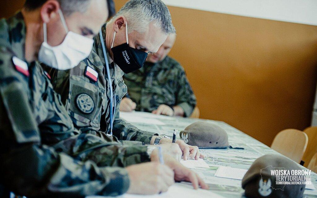 Akcja krwiodawstwa w zegrzyńskim Centrum Szkolenia Łączności i Informatyki