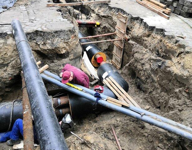 Energa - modernizacja sieci ciepłowniczej w Kaliszu