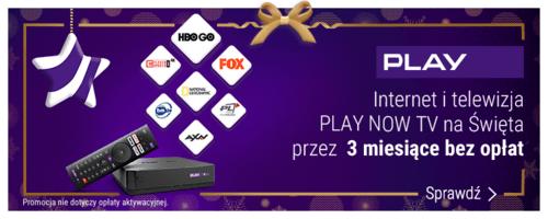 PLAY Moc świątecznych prezentów - Internet