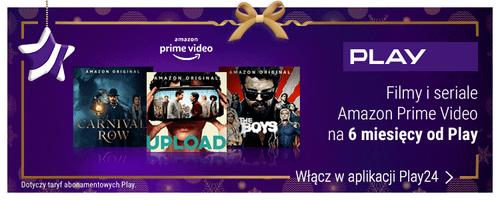Moc świątecznych prezentów Amazon Prime Video