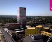 Tauron Wydobycie wieża szybowa inwestycji strategicznej w ZG Janina