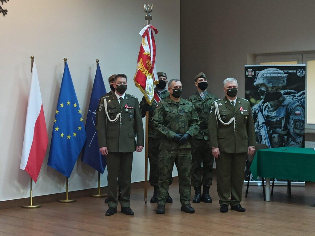 płk Witold Bubak objął obowiązki dowódcy 6 Mazowieckiej Brygady OT