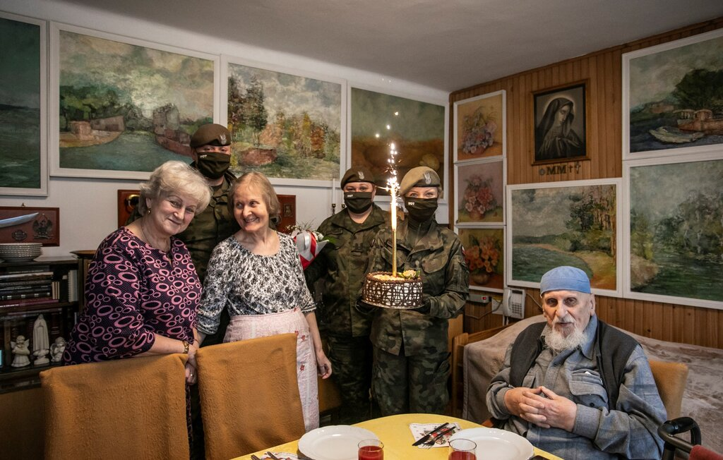 """Urodziny Tadeusza Goldmanna - Powstańca Warszawskiego Batalionu AK """"Zaremba-Piorun"""