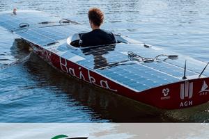 Zyxel Networks PRimage współpraca Zyxel AGH Solar Boat grafika