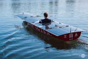 Zyxel Networks PRimgae AGH Solar Boat łódź Baśka