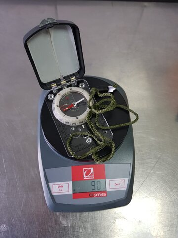 kompas na wadze