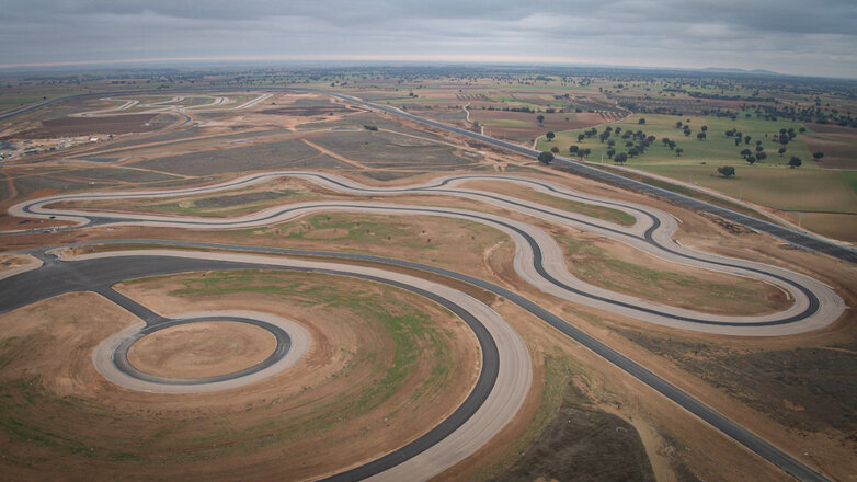 Nokian Tyres Spain Test Center 2021 tracks