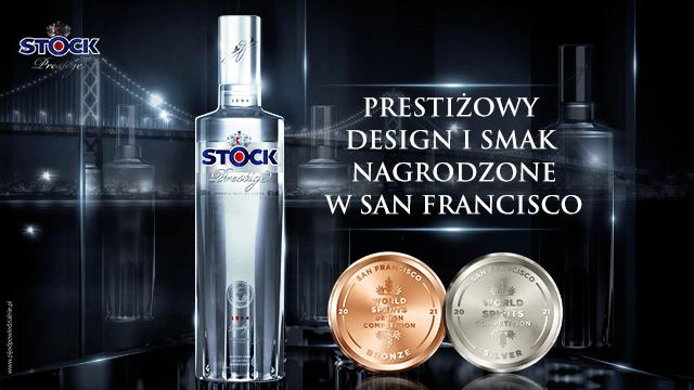 StockPrestigeVodka_medale_SanFranciscoWorldSpiritsCompetition