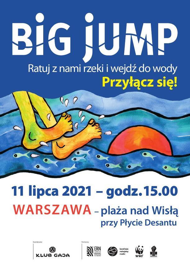 Big jump plakat W-wa 2021