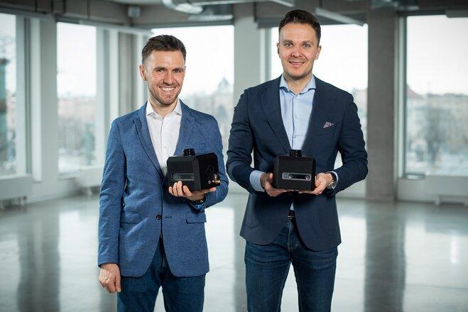 (od lewej) Radek Miszczak i Jerzy Lipiński, founderzy Optimatik