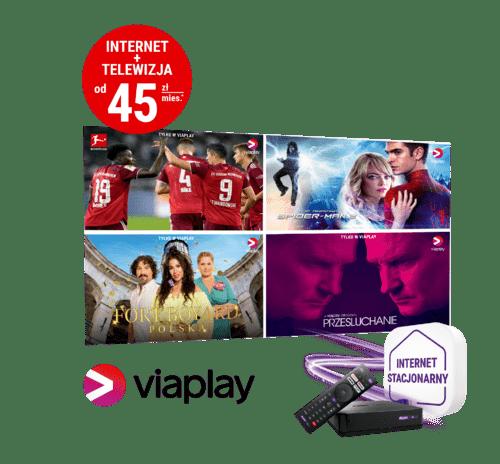 Specjalna oferta PLAY z Viaplay w cenie abonamentu
