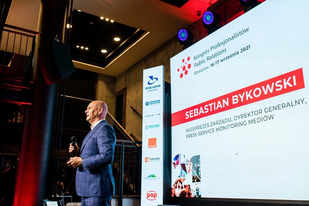 9.  Sebastian Bykowski, Wiceprezes Zarządu, Dyrektor Generalny PRESS-SERVICE Monitoring Mediów