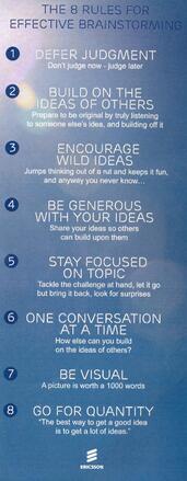 8 zasad efektywnej burzy mózgów
