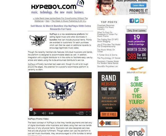 Screenshot - NuPlays on Hypebot