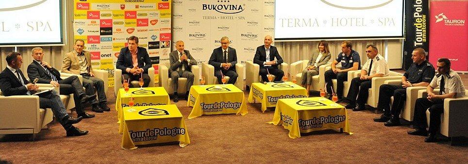 27 czerwca w Bukowinie Tatrzańskiej zaprezentowano trasę Tour de Pologne Amatorów (1).jpg