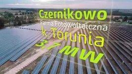 Farma fotowoltaiczna w Czernikowie koło Torunia Energa Wytwarzanie.mp4
