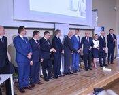 Sygnatariusze Listu intencyjnego na konferencji 7 czerwca.JPG