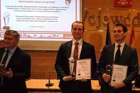 Nagrodę w imieniu firmy odebrał Jakub Gabarkiewicz, kierownik działu Marketingu i Komunikacji Zewnętrznej w firmie Ericsson Ericpol.