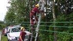 ekipa Energi Operatora naprawia sieć w okolicach Dziemian 01                             ...