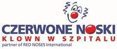 logo CZERWONE NOSKI Klown w Szpitalu