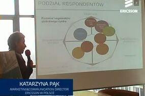 Awangarda mobilnego Internetu - Katarzyna Pąk, Dyrektor Komunikacji Marketingowej w Polsce, Ericsson  Warszawa, 7 lutego 2012