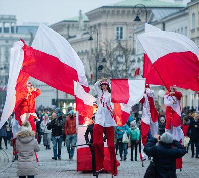 festiwal Niepodległa na Krakowskim Przedmieściu w 2018 roku