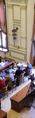 Konferencja prasowa w Radzie Miasta Gdańska
