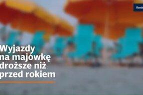 Wyjazdy na majówkę droższe niż przed rokiem. Subskrybuj kanał Bankier.pl: https://www.youtube.com/user/bankierTV?sub_confirmation=1 ↓↓ Więcej Informacji ↓↓  Chcesz wiedzieć więcej zajrzyj na https://www.bankier.pl/  Zapraszamy na nasze inne kanały mediów społecznościowych: Instargram: https://www.instagram.com/bankier.pl/ Facebook: https://www.facebook.com/Bankierpl/ Twitter: https://twitter.com/bankier_pl
