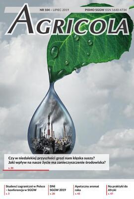 Agricola 104 lipiec 2019