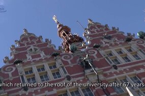 Historic walk round the Gdansk University of Technology Campus - part 1.