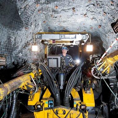 Kopalnia głębinowa Mc Creedy w Kanadzie