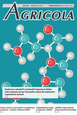 Agricola 105 wrzesień 2019