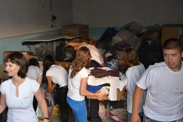 Zbiórka odzieży dla dzieci z domu dziecka w Jaszkotli