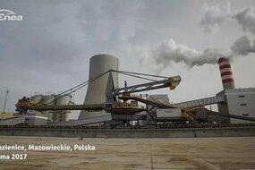 Budowa nowoczesnego bloku w Elektrowni Kozienice – Zima 2017