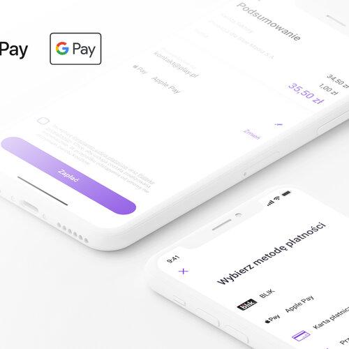 Play24 płatności natywne Google Pay Apple Pay BLIK