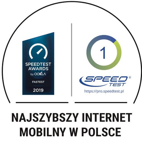 PLAY Najszybszy Internet Mobilny w Polsce Ookla Speedtest pl
