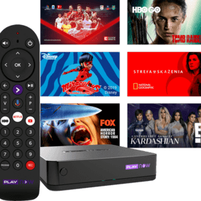 PLAY NOW TV BOX seriale