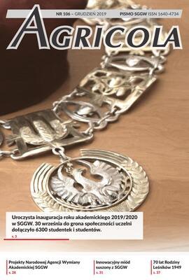 Agricola 106 grudzień 2019